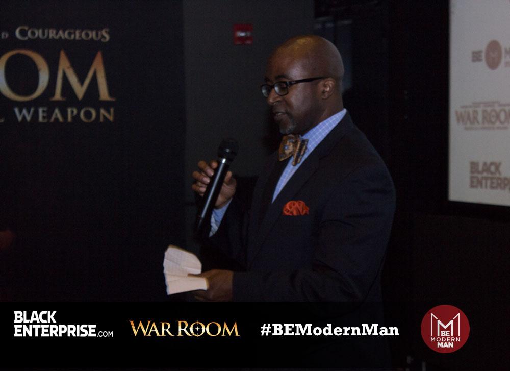 War Room Screening & BE Modern Man Reception - 7/9/15 - 9