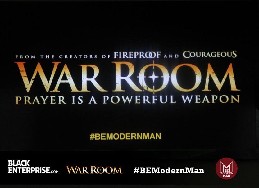 War Room Screening - BE Modern Man Reception