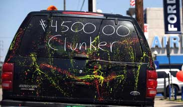 Cash Stuck In Clunkers Traffic Jam Black Enterprise