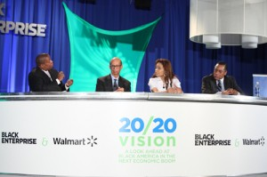 Dingle, UNCF CEO Michael Lomax, Act-1 Group CEO Janice Bryant Howroyd, Economist Bernard Anderson