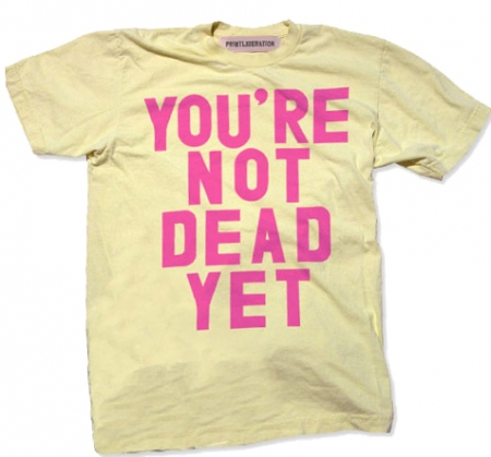 Youre not dead yet dating site