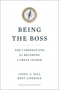 Being the Boss book by Linda Hill