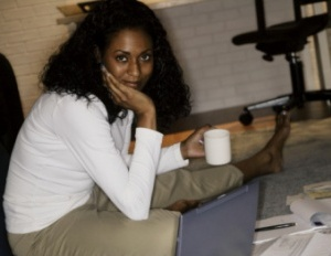 black-woman-drinking-coffee