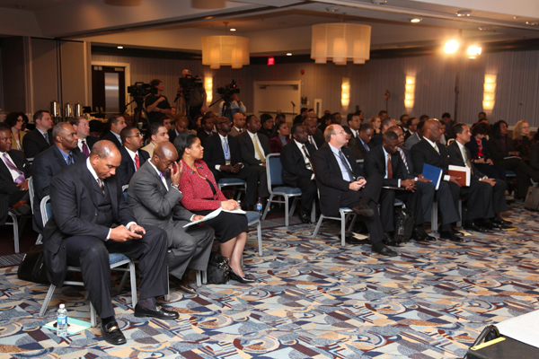 The Black Enterprise Energy Forum attracted a standing-room-only audience.