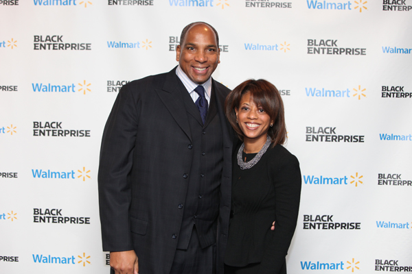Black Enterprise CEO Earl Graves Jr. , White House Domestic Policy Council Director Melody C. Barnes