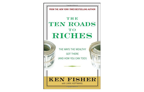 What's the best way to get rich? BlackEnterprise.com Editor-in-chief Alfred Edmond Jr. suggests that prosperity comes to those who study the habits of the well-off. One of his favorite money books is The Ten Roads to Riches: The Ways the Wealthy Got There (And How You Can Too!) by Ken Fisher (Wiley, $25).