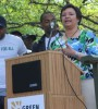 "Environmental Protection Agency Administrator Lisa Jackson joined Green For All in its Earth Day Celebration at Riverside Valley Community Garden in New York on April 22.  A day of community service, the event brought together local activists and volunteers to plant seeds of growth and renewal where there was once blight. ""Today's groundbreaking is keeping alive the grassroots spirit of the first Earth Day 40 years ago,"" Jackson said. ""This community is coming together to work toward a healthier, safer environment, a better place to live, and new opportunities.""  (Click here to win one of five signed copies of ""Kennedy Green House"" by Robin Wilson.)"