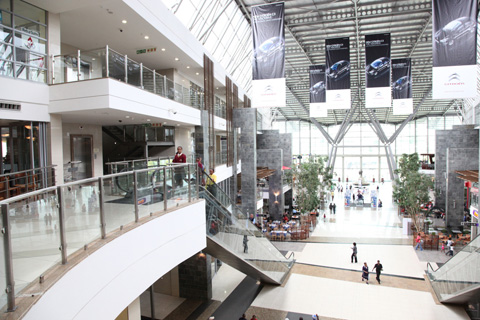 Moponya Mall, a black-owned shopping center, attracts an average of 90,000  people a month.