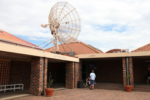 The Rosa Parks Library in Soweto.