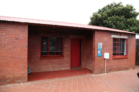 Nelson Mandela's Soweto home. He lived there in the 1940s and 1950s before being  sentenced to life imprisonment for sabotage and subsequently served 27  years.