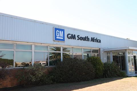 General Motors' manufacturing facilities in Port Elizabeth.