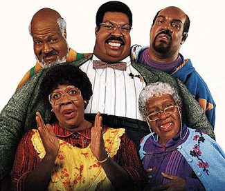 The Klumps may be funny, but obesity in black families is literally as serious as a heart attack.