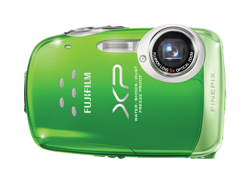 "If your travels take you off the beaten path, consider Fujifilm's FinePix XP10 ($199.99). This ""four-proof"" (water-, freeze-, shock- and dust-) digital  camera—lets you capture your adventures without stress. The 12.2-megapixel digital camera features 6.3x digital zoom and comes in a variety of cool colors."