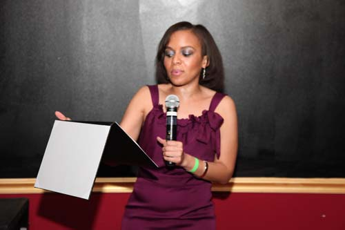 The mastermind behind BE Next, Black Enterprise Small Business Editor Tennille Robinson recognizes some of the groundbreaking young entrepreneurs at the event.