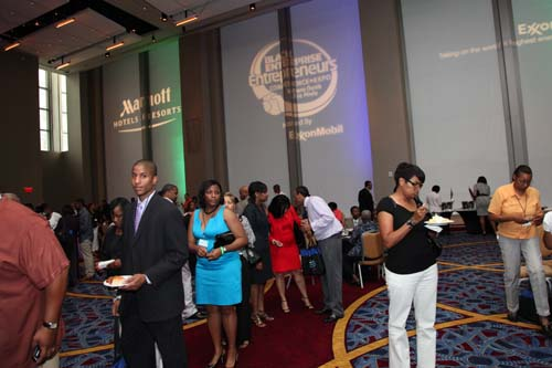 Events such as the Black Enterprise Entrepreneurs Conference are important opportunities to gather informationa and build your network. (Photo by Lonnie C. Major)
