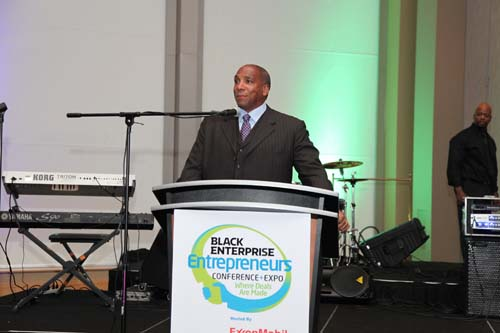"Earl ""Butch"" Graves Jr. welcomes all attendees and sponsors to the 15th annual Entrepreneurs Conference at the Opening Reception hosted by ExxonMobil and Southern Company, and lets everyone know a little bit about the great things that will be taking place over the next couple of days."