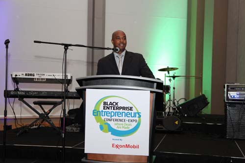 A representative from Southern Company also welcomed the Black Enterprise Entrepreneurs Conference to Atlanta and wished everyone a successful event.