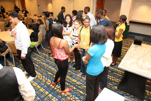 One of the critical skills the Teenpreneurs learned was how to network; how to gather information that may lead to a business opportunity.