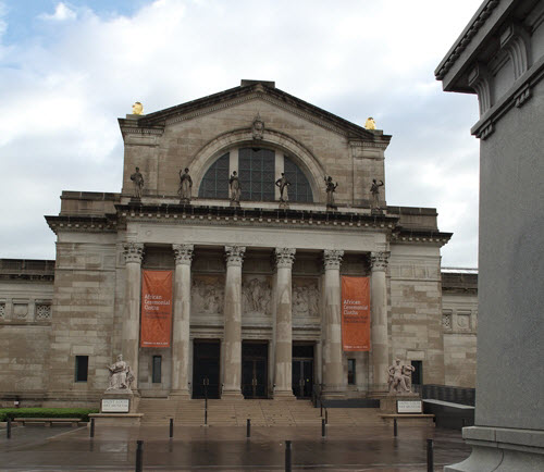 ATTRACTIONS: Saint Louis Art Museum (1 Fine Arts Drive; 314-721-0072) is located in Forest Park offering one of the most comprehensive art collections in the country. The free museum is committed to making fine art available to everyone.