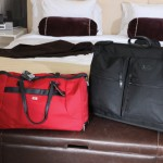 """Best luggage Tumi for quality and the reputation of the brand. """"All my luggage is Tumi except for one piece."""" Favorite overnight bag Red Victorinox Swiss Army duffel bag. """"It's durable and easily recognizable when I check it."""""""