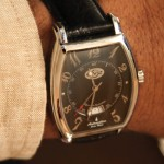 """Favorite time piece for international travelSwiss handcrafted Gevril GV2 Automatic. """"It's elegant and keeps perfect time wherever I am in the world."""""""