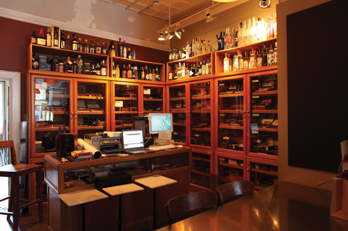 ATTRACTIONS: Brennan's (4659 Maryland Ave.; 314-361-9444) comes highly recommended by James, who is in a partnership with Adan y Eva cigars, as a place to entertain clients and cigar aficionados. Located in Central West End, it is also a popular wine bar.