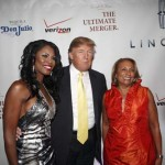 Omarosa, real estate mogul Donald J. Trump and Radio One Founder and Chairperson Cathy Hughes on the read carpet for the premiere party for the new reality TV series, Donald J. Trump Presents The Ultimate Merger, held at Trump Tower in New York City on Monday, June 14. On June 17 cable television company TV One (ranked No. 44 on the BE 100s Industrial/Service list) debuted The Ultimate Merger reality series. This Thursday, June 24, TV One will re-air the 90-minute first episode at 8:30 p.m. EST, followed by a one-hour second episode at 10:00 p.m.