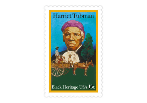 Perhaps the best known conductor of the Underground Railroad, Harriet Tubman was an abolitionist, humanitarian, and Union spy during the Civil War. (Date issued: Feb. 1, 1978)