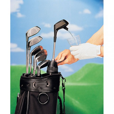 Golf Club Drink Dispenser: Here's another gift for the dad who loves to spend his time on the green. He can have his favorite drink on hand with this golf club-shaped beverage dispenser that fits right into his golf bag. The dispenser holds 48 fluid ounces and, at $31.99, it's not too tough on the wallet either.