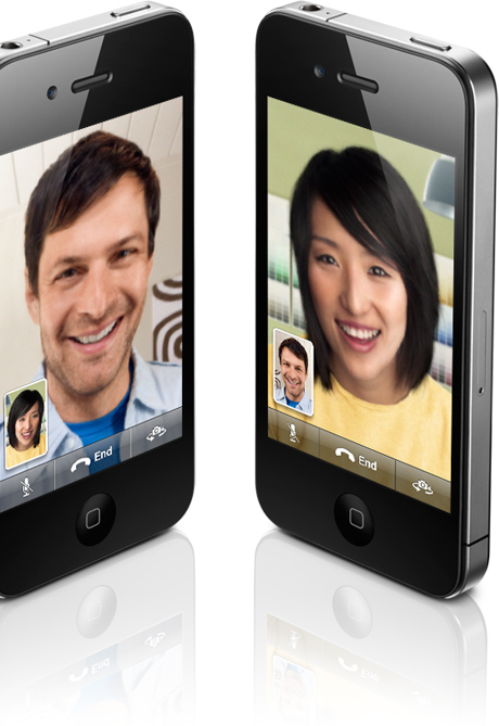 Front-Facing Camera: One of the biggest iPhone 4 touts is its front-facing camera for video calling. iPhone 4 users will be able to chat with each other using an app called FaceTime anywhere a Wi-Fi connection is available.