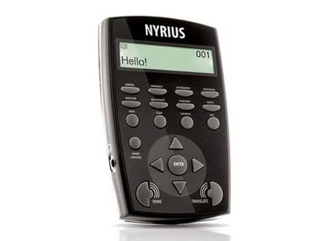 Talking translator: For the traveling dad, the Nyrius LT12 12 Language Global Digital Talking Translator will make navigating foreign lands a little easier. It translates 12 international languages using 8,400 built-in phrases. Learn how to pronounce the words with the built-in speakers that repeat phrases aloud. At $49.99, it's not a bad price to pay for convenience.