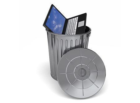 Erase your garbage - Before you trash your old computer erase your hard drive. Pressing delete, isn't good enough, because the files are still there even if they aren't readily visible to you. There are plenty of free or inexpensive software, like Boot and Nuke or Secure Erase, created by University of California in San Diego, which will help you completely wipe out all of your proprietary data. For more information visit: Better Business Bureau and Security Made Simpler, Comcast Security, TechWatch, Tech Tools for Entrepreneurs,
