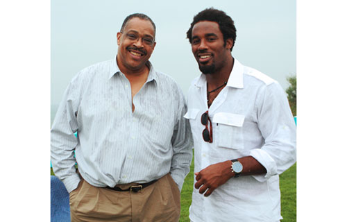 Jean S. Fugett, Jr., Esq., journalist, attorney, businessman, and former Dallas Cowboys starting tight end chats with Cincinnati Bengals linebacker and TV personality Dhani Jones. Fugett, who played in Super Bowl X, is the late Reggie Lewis' brother. Jones played in Super Bowl XXXIX.