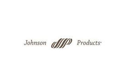 In 1970, Johnson Products becomes the first black-owned company to be publicly traded on the American Stock Exchange. With $13 million in sales, Johnson leads the big five black haircare manufacturers. The others: Atlanta-based Cannonolene Co.; Magnificent Natural Products of California; John H. Johnson's Supreme Beauty Products; and Madame C. J. Walker Company. (Image: Johnson Products logo)