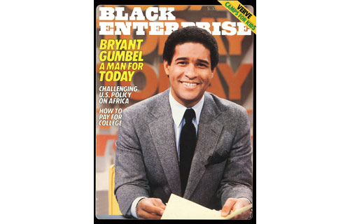 "In April 1982, BLACK ENTERPRISE covered a media milestone: Bryant Gumbel being named co-host of NBC's Today, the first black to anchor a network morning program. The 33-year-old former sportscaster and host of the network's leading NFL program – one that reached 70 million television viewers – replaced Tom Brokaw out of a field of the toughest veteran competition at the time. When asked by our editors would his promotion provide another opening for blacks in media, he responded: ""I think there  has been less than a terrific effort on the parts of all the networks to find new people. You're dealing with people who have been in the business a long time and [they] have been white males."""