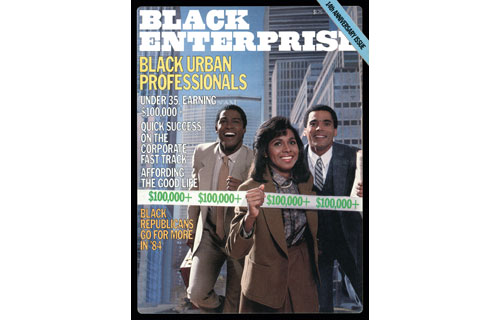"In August 1984, BLACK ENTERPRISE kicked its coverage of blacks in corporate America into high gear as a new generation of young professionals – many armed with MBAs from the best schools – sought to get on the fast track to higher positions, more lucrative salaries and rewarding perks. The industry of choice: finance. The most coveted workplace: Wall Street. In that issue, our editors made the term ""Buppies"" – black urban professionals – part of the '80s business culture."