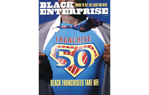Despite a tough recession, franchising was producing super returns for a number of entrepreneurs as our September 1991 cover illustrated. The composition of the BE Franchise 50 – our listing of the companies with the most black-owned franchise outlets – showed that 22% were in the fast food sector while 10% could be found in business/postal services, cleaning services  and specialty foods, respectively. However, blacks were still woefully underrepresented in the total universe of franchising: only 3% of the more than 500,000 franchise outlets were minority-owned.