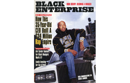 In this December 1992 cover story, BLACK ENTERPRISE delved inside the world of Russell Simmons  and his hip-hop empire-building. Through his talent for finding the right musical talent, marketing strategies and business partnerships, his mission was to take urban culture global. At that time, the 35-year-old mogul's $34 million Rush Communications, which included the Def Jam record label, was No. 32 on the BE INDUSTRIAL/SERVICE COMPANIES List; earned an annual salary of $5 million; and considered taking the company public. And that all happened before he launched the Phat Farm clothing line.