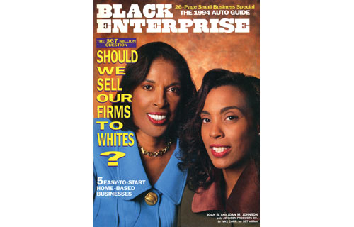 "When Johnson Products Co., the haircare products company known for Ultra Sheen and Gentle Treatment, was sold to majority-owned conglomerate IVAX Corp in a deal valued at $67 million, it created a firestorm of protest in the African American communities. The furor led to our editors developing the November 1993 cover story, ""Should Black Businesses Be Sold To Whites?"" The article stated that ""the sale challenges our understanding of economic empowerment: Are blacks who sell their businesses to whites savvy entrepreneurs or sell-outs?"" Even though two decades later a number of such divestitures have given black entrepreneurs access to capital for expansions and acquisition, the practice continues to rankle many who believe black institutions should be preserved at all cost."