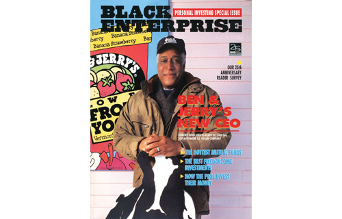 """On the April 1995 cover, BLACK ENTERPRISE cited the appointment of Robert Holland, a corporate executive and turnaround artist, as CEO of Ben & Jerry's Homemade Inc. as another corporate milestone: the first African American recruited to run a majority-owned franchisor.  He said of his ascent: """"Twenty years from now, nobody's going to know Bob Holland, Dick Parsons or Ken Chenault . There'll be 20 black CEOs of Fortune 500 companies, half of them or more women. So this is just a passing point in time."""""""