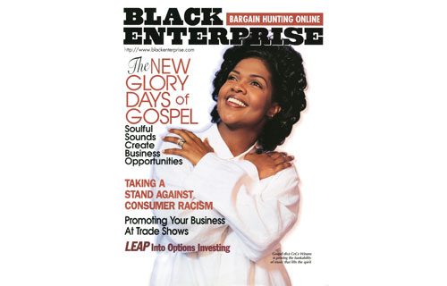 """Gospel music has become big business – and BLACK ENTERPRISE was one of the first publications to cover this trend. Recording artists like our July 1998 cover subject CeCe Winans made gospel, or contemporary Christian, the fastest-growing genre and the sixth most popular form of music, beating our jazz and classical. The feature, """"Gospel Rides Again,"""" highlighted artists who brought a new style to gospel with cutting-edge hairstyles and fashions like Yolanda Adams and God's Property, one of the first to rack up platinum sales – 1 million units each."""