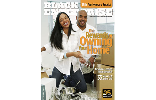 As part of our 35th Anniversary – and commitment to wealth-building, BLACK ENTERPRISE  launched the Own Your First Home Contest in our August 2005 issue. Through our BlackEnterprise.com website, we provided applicants with the opportunity to win $10,000 toward a down payment on their property. The contest was limited to first-time home buyers who met credit requirements to qualify for a mortgage.  So far, we have selected four winners. Although cover subjects Maria and Cameron Saulsby did not participate, the first-time home buyers offered a strong example of how homeownership enables individuals to achieve long-term wealth-building goals.