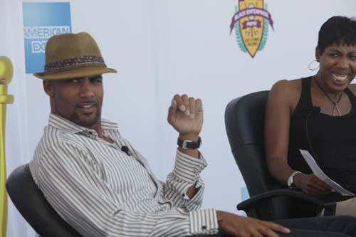Kodjoe, a Hollywood heartthrob known for his roles in films such as The Gospel and Tyler Perry's Madea's Family Reunion, joins the panel discussion.