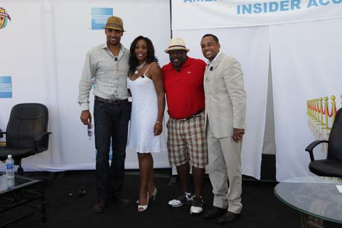 "On Day Three of the Black Enterprise Pepsi Golf & Tennis Challenge (Saturday, September 4, 2010), the hospitality luncheon hosted by American Express featured a talks show styled program called ""American Express Insider Access,"" featuring actor Boris Kodjoe (star of the new NBC action series Undercovers), actor-vocalist Dawnn Lewis, actor-comedian Cedric The Entertainer and actor-author Hill Harper."
