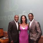 Hill, Black Enterprise Business Report Host Caroline Clarke, Underwood