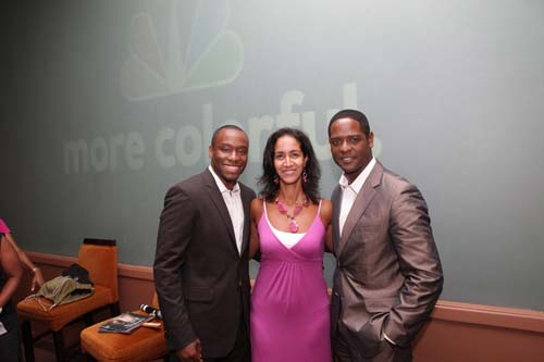 Hill, Black Enterprise Business Report Host Caroline Clarke, Underwood