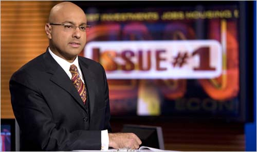 No, Ali Velshi is not black (he is of Indian descent), although he was born in Nairobi, Kenya. But no national business and news anchor has been more passionate than Velshi, CNN anchor and senior business correspondent and co-host (with Christine Romans) of Your $$$$$, about financial literacy and helping the average person understand how money works. A highly sought-after speaker at events aimed at helping African Americans to understand money and the financial markets, such as Carver Federal Savings Bank's Money In The Bank event in Harlem, Velshi is the author of Gimme My Money Back: Your Guide to Beating the Financial Crisis.