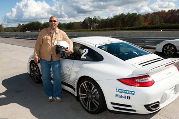 Black Enterprise CFO Jacques Jiha is ready for his drive.