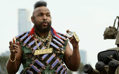 Lawrence Tureaud aka Mr. T was part of military police in the U.S. Army before becoming the infamous Mohawk-wearing A-Team action hero.