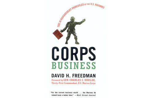 Gregory Marchand, 34, Founder and Managing Director Gizmos L.L.C.   	Corps Business: The 30 Management Principles of the U.S. Marines by David Freedman
